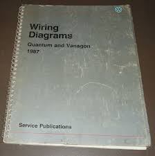vanagon items 1987 vw service manual wiring diagrams quantum and vanagon volkswagen