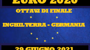 Scommesse Inghilterra – Germania di martedì 29 Giugno 2021