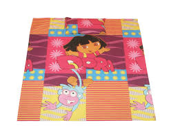 dora crib bed sheet set