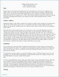 Basic Business Letters Personal Business Letter Parts Of A Worksheet Closings