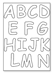 Letter Stencils To Print And Cut Out Letters To Print And Cut Out 6a Cut Out Letters Downloads