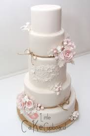 Floral Wedding Cakes 2015