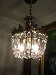 french gold chandelier vintage crystal prisms gold crown basket chandelier ceiling light french empire french gold french gold chandelier