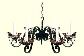 adorable candle chandeliers non electric
