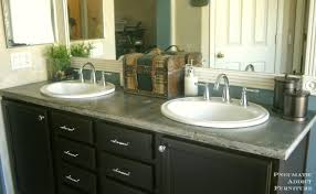 appealing bathroom granite countertop costs at replace exquisite pneumatic addict diy concrete with sink openings