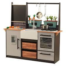 Amazoncom Kidkraft Farm To Table Play Kitchen Set Large