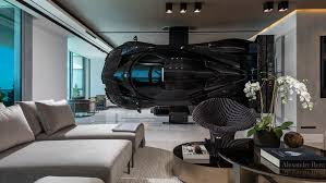 Concept Statement Interior Design New Pagani Zonda R Racecar Installed Inside This Miami Condo Robb Report