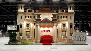 Home Decor And Design Exhibition Styro Index Exhibition Design On Behance