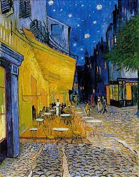 most famous paintings ever café terrace at night by vincent van gogh
