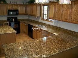 Giallo Veneziano Granite Kitchen 4 Inch Backsplash