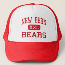 new bern bears high new bern north carolina trucker hat