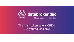 Data Broker Blockchain Sensor Data Marketplace Data Broker Daos Token Sale Is