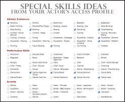 special skills resume examplesspecial skills on resume