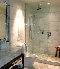 new york city hotel walk in shower for two