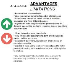algorithms in journalism multimedia essay the city journal types pros cons