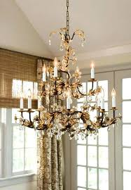 rod iron chandeliers with