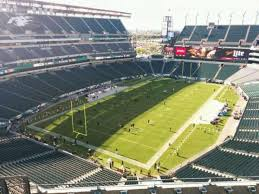 Lincoln Financial Field Section 217 Home Of Philadelphia