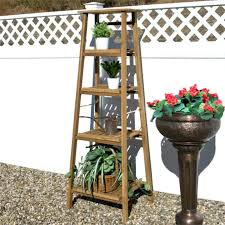 outdoor wooden plant stands four tiered ladder style teak stand plans timber 3 tier plant stands outdoor wood