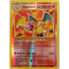 Charizard (Glurak) 11/108 Reverse Holo Pokemon XY Evolutions EN NM