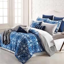 pacific coast shibori ikat 16 pc printed reversible comforter set