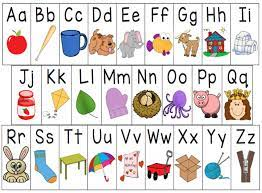 Rigsby, Mallory- Kindergarten / ABC Chart