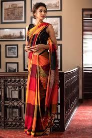 Blouse Design For Youngsters Handloom Cotton Sarees Saree Styles Elegant Saree Saree Look
