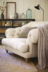 mac at home extra large moon chair with ottoman. comfy white chair in the living room | friday favorites at www.andersonandgrant.com mac home extra large moon with ottoman