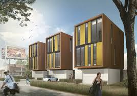 Design office space dwelling Furniture Sacramento Housing Johnsen Schmaling Architects