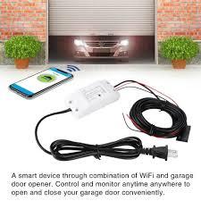 details about wireless wifi garage door remote control gate door controller opener universal