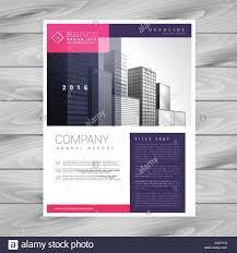 Trendy Magazine Layout Brochure Flyer Design A4 Template