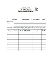 Standard Invoices Template 6 Standard Invoice Templates Doc Pdf Free Premium Templates