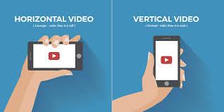 horiztal vertical vs horizontal video subsign medium