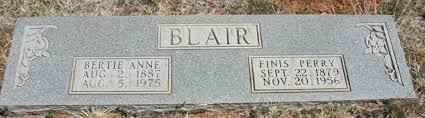 Bertie Ann Bean Blair (1887-1975) - Find A Grave Memorial