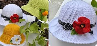 Image result for crochet girls hat patterns