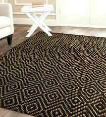 black jute rug fancy jute rug 9x12 area rugs extraordinary jute rug jute vs sisal black