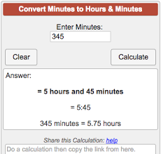 Miles To Minutes Conversion Chart Minutes To Hours Converter