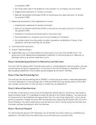 Recommendation Letter For Visa Application Company Cover Letter For Visa Application