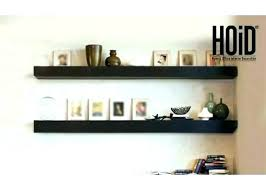 floating shelves with trim wooden shelf grey wood effect full size of gray rustic wall black