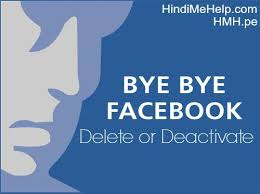 Me In Kare Deactivate Permanently - Help Account Facebook Delete Hindi Kaise