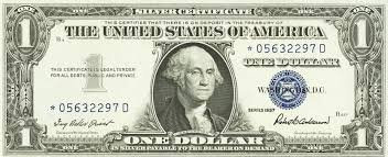 what are 1957 1 silver certificates worth