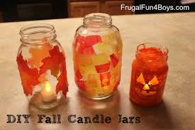 How To Decorate Candle Jars Three Ways To Make A Fall Candle Jar 84