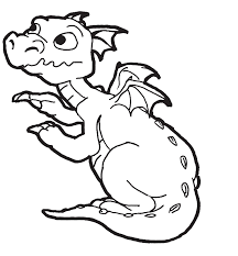 Small Picture Impressive Baby Dragon Coloring Pages Cool Ide 6936 Unknown