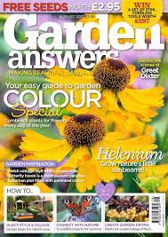 garden magazine.  Magazine Garden Answers Magazine  The 10 Best Gardening  Magazines Magazinecouk With Magazine G