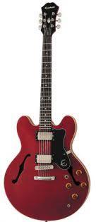 <b>Полуакустическая гитара Epiphone Dot ES-335</b> Cherry купить в ...
