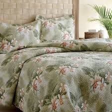Tommy Bahama Bedding Tropical Orchid 3 Piece Reversible Quilt Set ... & Tropical Orchid 3 Piece Reversible Quilt Set by Tommy Bahama Bedding Adamdwight.com