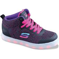 Energy Lights For Girls Girls Skechers Energy Lights Knit Glitz Shoe