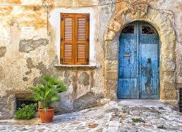 front door photographyMediterranean Door Window And Vase Photograph by Silvia Ganora