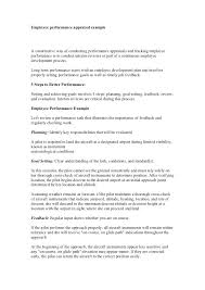 Employee Performance Appraisal Comments Examples Unique Phrases ...