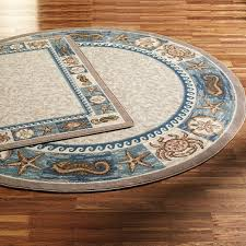 furniture round nautical rugs beach themed area rugs balta round nautical rugs