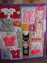 Best 25+ Baby clothes quilt ideas on Pinterest | Baby clothes ... & Baby Keepsake Quilt. Link below is to a company that will make them. Image Adamdwight.com
